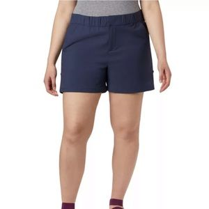 """Columbia Firwood Camp II Shorts 5"""" Nocturnal blue"""